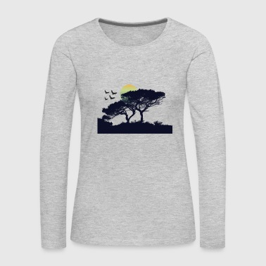 Morning in Africa Jungle T-shirts 2018 - Women's Premium Long Sleeve T-Shirt