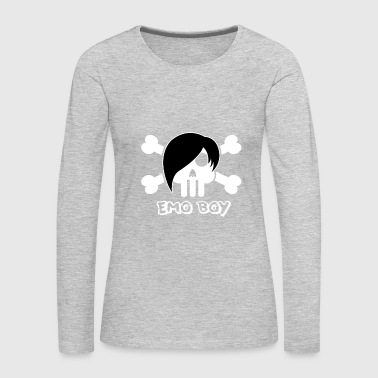 Emo Style Emo Boy - Women's Premium Long Sleeve T-Shirt