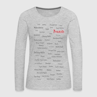 Breasts Breasts - Women's Premium Long Sleeve T-Shirt