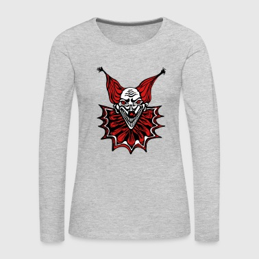 The Clown - Women's Premium Long Sleeve T-Shirt