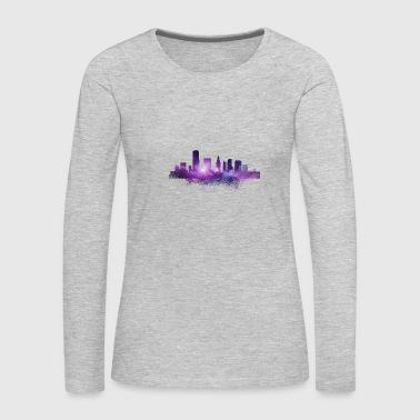 Florida Miami Skyscraper - Florida - Total Basics - Women's Premium Long Sleeve T-Shirt
