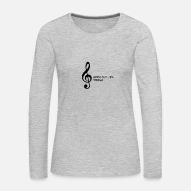 Treble TREBLE - Women's Premium Long Sleeve T-Shirt
