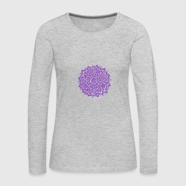 Purple Mandala - Women's Premium Long Sleeve T-Shirt