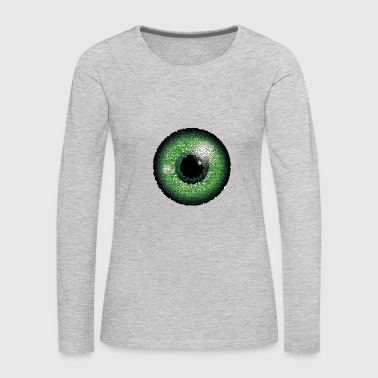 Eyes Gift Idea Graphic artwork Exclusive - Women's Premium Long Sleeve T-Shirt