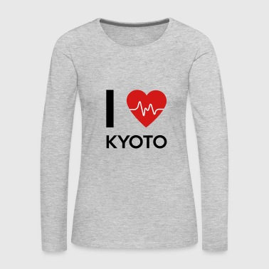 I Love Kyoto - Women's Premium Long Sleeve T-Shirt