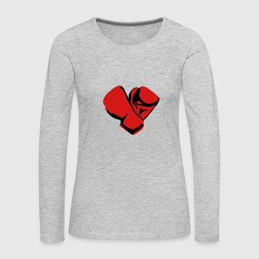 Boxing Gloves Boxing gloves - Women's Premium Long Sleeve T-Shirt