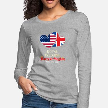 Prince Royal Wedding Of Meghan Markle And Prince Harry - Women's Premium Longsleeve Shirt