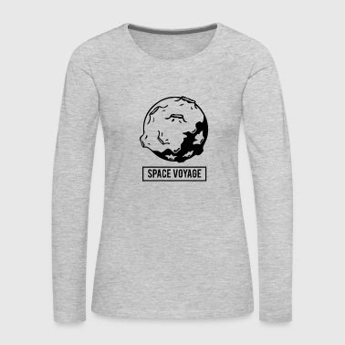 Space Voyage - Planet Adventure - Gift ideas - Women's Premium Long Sleeve T-Shirt