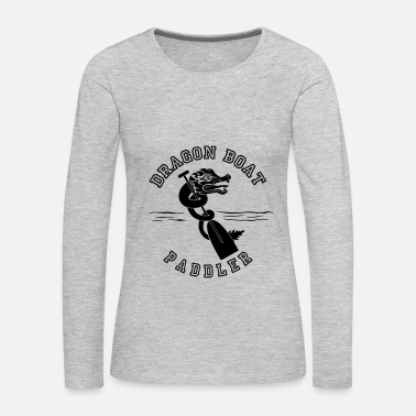 Boat Dragon boat Paddler - Women's Premium Long Sleeve T-Shirt
