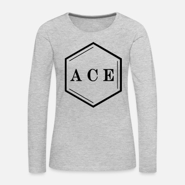 Ace ACE Logo - Women's Premium Long Sleeve T-Shirt