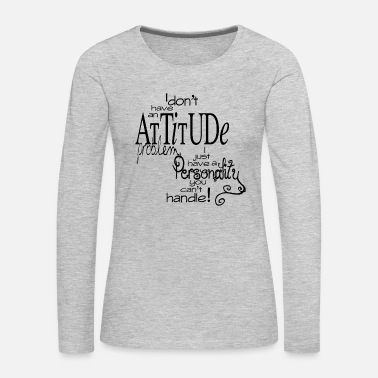 Hipster funny quotes funniest jokes - Women's Premium Long Sleeve T-Shirt