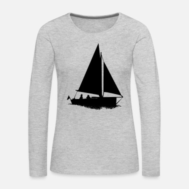 Sailboat sailboat - Women's Premium Long Sleeve T-Shirt