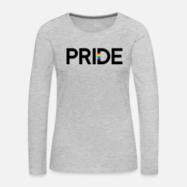 Cleaning PRIDE (black) - Women's Premium Long Sleeve T-Shirt