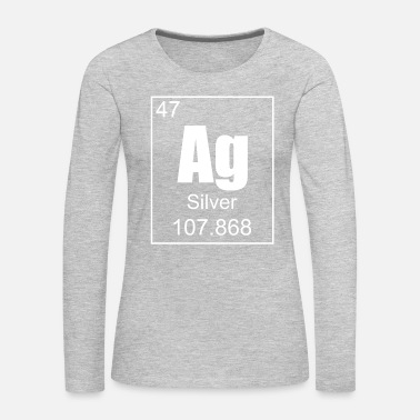 Silver Silver - Women's Premium Long Sleeve T-Shirt