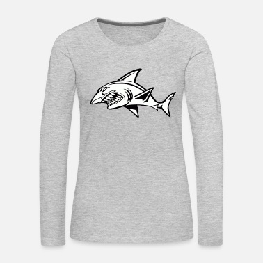 Ocean Animals The most ferocious animal in the ocean - Women's Premium Long Sleeve T-Shirt