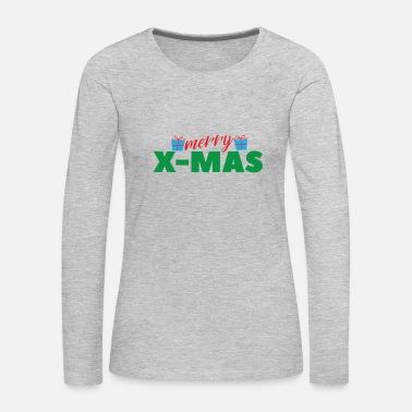 Teenager Christmas Gift Idea Merry xmas Team Santa - Women's Premium Long Sleeve T-Shirt