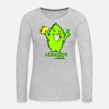 Hungry Hungry - Women's Premium Long Sleeve T-Shirt