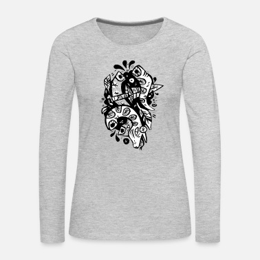 Serpent snake serpent - Women's Premium Long Sleeve T-Shirt