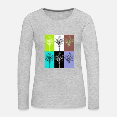 Abstract Abstract - Women's Premium Long Sleeve T-Shirt