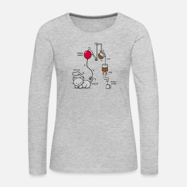 Instant Instant Coffee - Women's Premium Long Sleeve T-Shirt