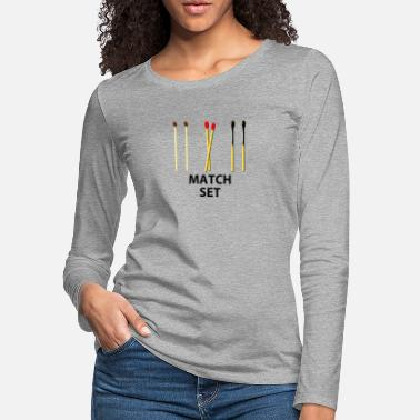 Match MATCH SET - Women's Premium Longsleeve Shirt