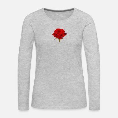 Rose A Rose is a Rose - Women's Premium Long Sleeve T-Shirt
