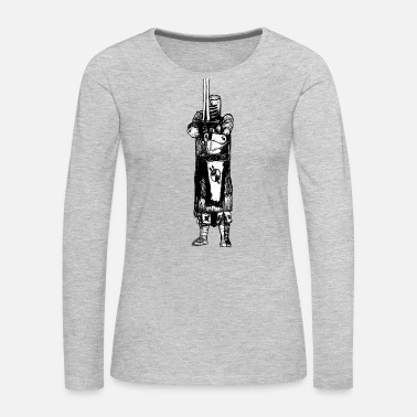 Medieval Medieval Knight - Women's Premium Long Sleeve T-Shirt
