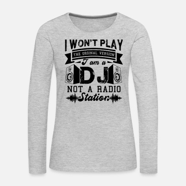 Dj DJ - Women's Premium Long Sleeve T-Shirt