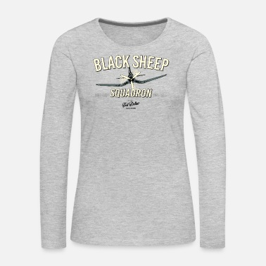 Black Sheep Black Sheep Squadron - Women's Premium Long Sleeve T-Shirt
