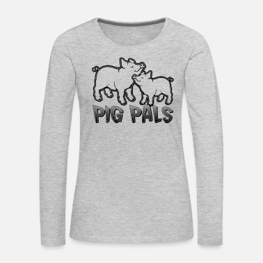 Pig Shirt - Women's Premium Long Sleeve T-Shirt