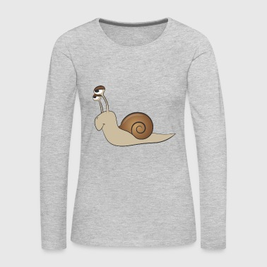 snail - Women's Premium Long Sleeve T-Shirt