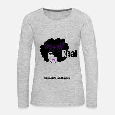 Black Black Girl Magic - Women's Premium Long Sleeve T-Shirt