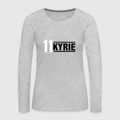 KYRIE IS THE KING - Women's Premium Long Sleeve T-Shirt