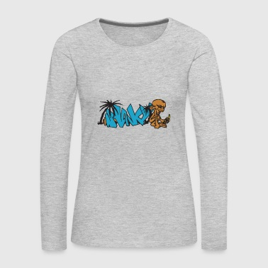 graffiti - Women's Premium Long Sleeve T-Shirt