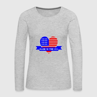 Made in the USA - Women's Premium Long Sleeve T-Shirt