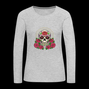 Day Of Dead Cinco De Mayo Story - Women's Premium Long Sleeve T-Shirt