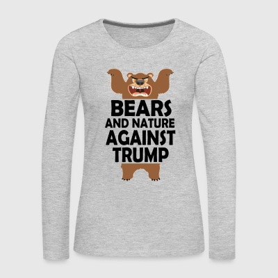 TRUMPBEARS - Women's Premium Long Sleeve T-Shirt