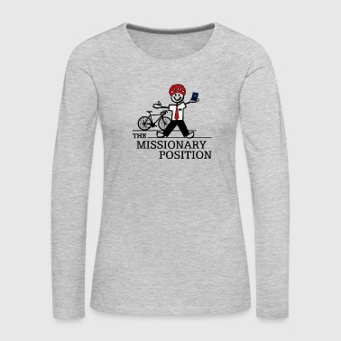 The Missionary Position (Light) - Women's Premium Long Sleeve T-Shirt
