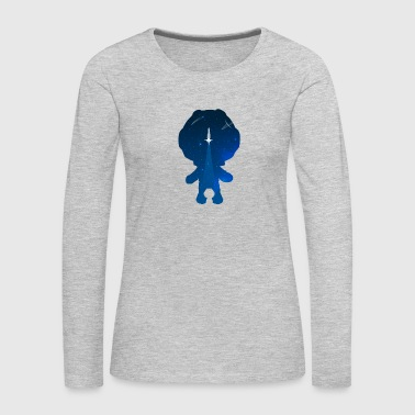 Little Astronaut - Women's Premium Long Sleeve T-Shirt