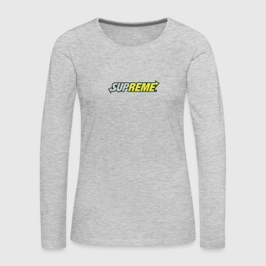 Supreme Subway - Women's Premium Long Sleeve T-Shirt