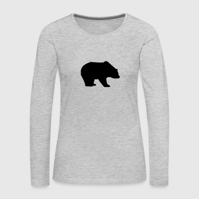 wild bear polar teddy bears brown grizzly panda ba - Women's Premium Long Sleeve T-Shirt