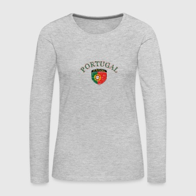 Portugal football designs - Women's Premium Long Sleeve T-Shirt