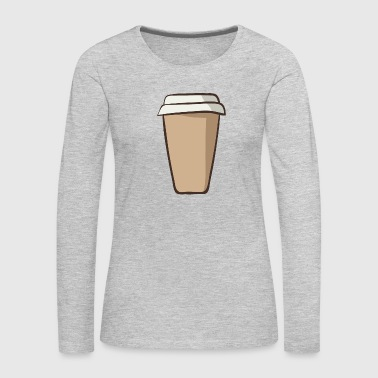 coffee cup 14 - Women's Premium Long Sleeve T-Shirt