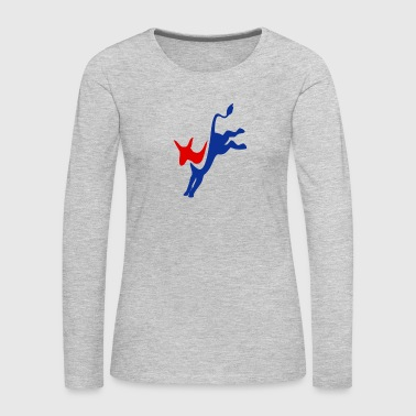 Democrat - Women's Premium Long Sleeve T-Shirt