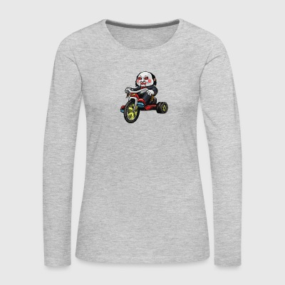 Rubber Biker Cyber Systen - Women's Premium Long Sleeve T-Shirt