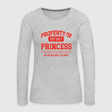 Property of Princess - Women's Premium Long Sleeve T-Shirt