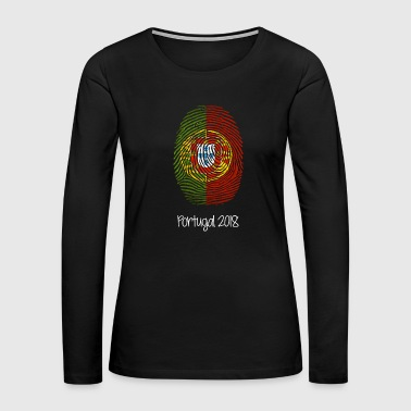 Portugal World Cup 2018 - Women's Premium Long Sleeve T-Shirt