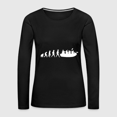 Evolution Whitewater Rafting Water Sports - Women's Premium Long Sleeve T-Shirt