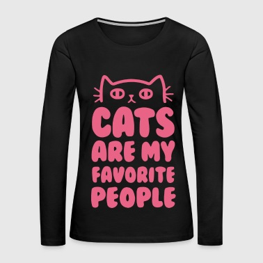 cat - Women's Premium Long Sleeve T-Shirt