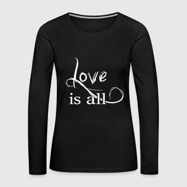 Affection Love is all - Help Affection - Women's Premium Long Sleeve T-Shirt